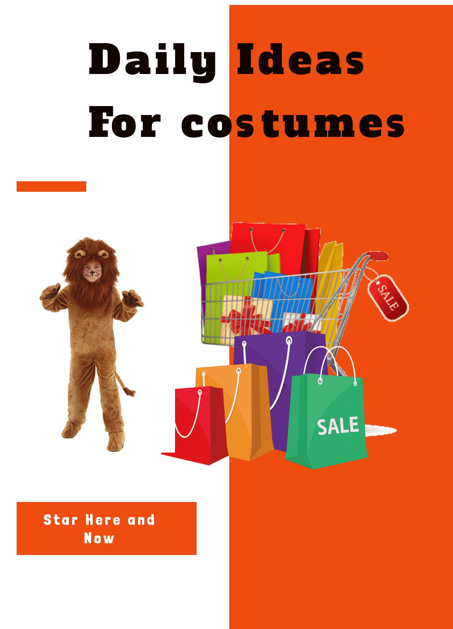 costume lion