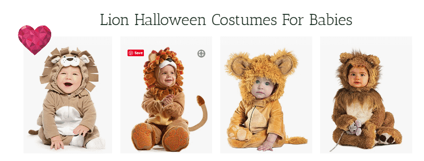 Lion Halloween Costumes For Babies