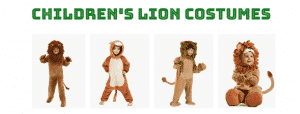 Children's Lion Costumes