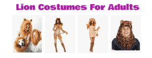 Lion Costumes For Adults