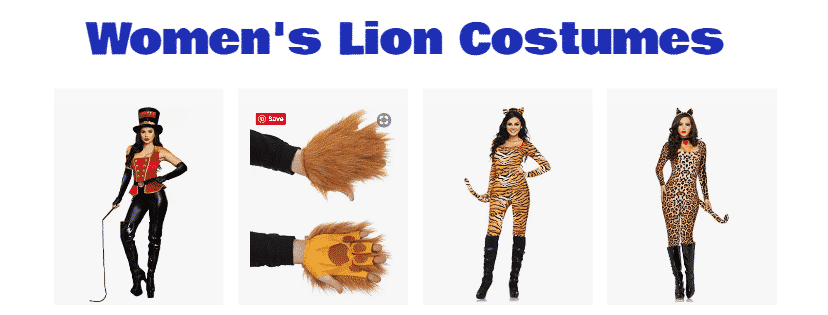 Women's Lion Costumes