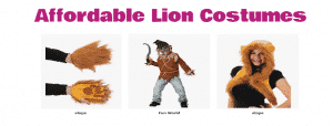 Affordable Lion Costumes