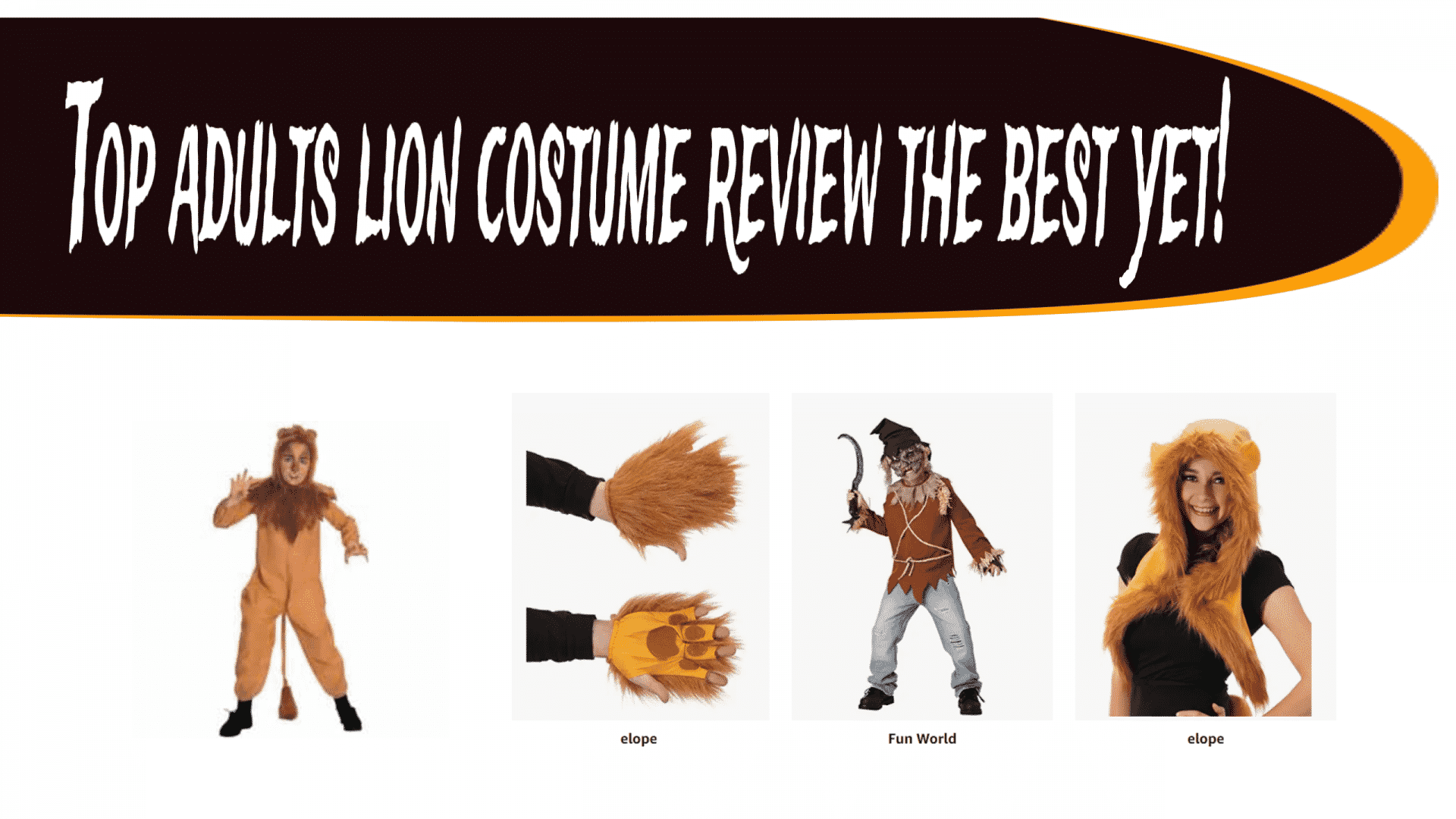 Top adults lion costume review the best yet!